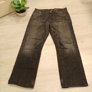 """7 for all mankind """"relaxed"""" button fly Size 36"""